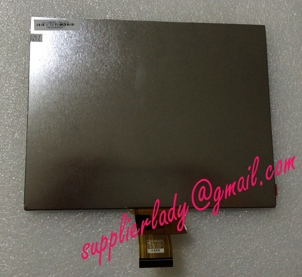 Original and New 8inch LCD screen HLY080ML154-27A HLY080ML154 for tablet pc free shipping original 7 inch 163 97mm hd 1024 600 lcd for cube u25gt tablet pc lcd screen display panel glass free shipping