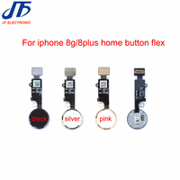10pcs Lot Home Button Flex Ribbon Cable Assembly For IPhone 8 8G Plus Home Key Replacement