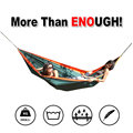 Outdoor High-end Ultra-light Single Parachute Cloth Interior Quarters For Two Bedrooms Swing Hammock Tourist Hiking And Leisure