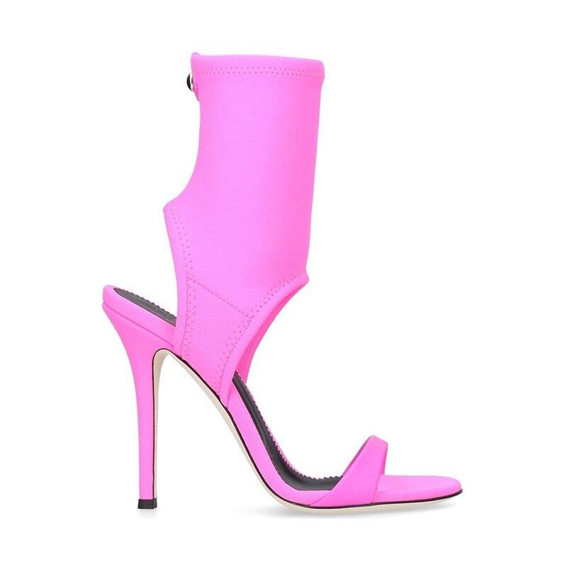 Gladiateur De vert Sexy D'été Mode Chaussures Rome lavande 2018 Nouveau Sandales Soirée Hauts Mince Femelle Clair Talon Femmes Ladiessandals Talons Noir Été wxPRPSE