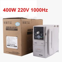 0.4KW 400W 220V 1PH 3PH 1000Hz SUNFAR VVV/F SVC Universal Frequency Converter VFD For Router Spindle Air Blower Controller