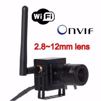 Low Cost 2.8-12mm Manual Varifocal Zoom Lens Ip Kamera Wifi H.264 Onvif 1.3MP Wdr Wireless Mini Wifi IP Camera 960P Indoor CCTV