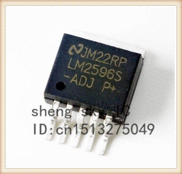 FREE SHIPPING 10PCS LM2596S-ADJ LM2596 ADJ TO263 SMD power supply module DC / DC BUCK 3A adjustable buck module component