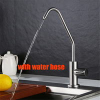 Stainless Steel Lead Free Cold Water Kitchen Faucet Drinking Water Faucet Single Cold Purified Water Tap