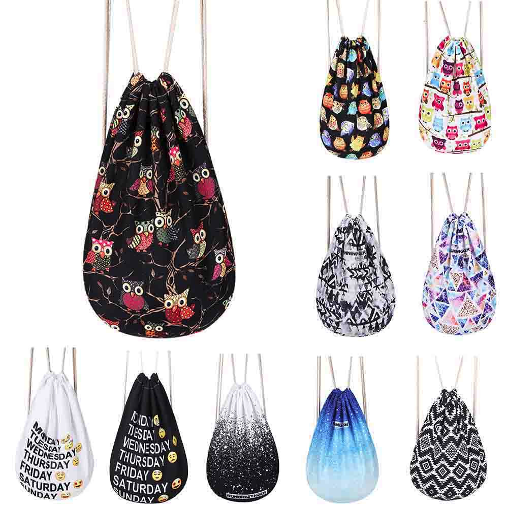 2018 new fashion Women Emoji Backpack 3D Printing travel softback women mochila drawstring bag mens dropshipping