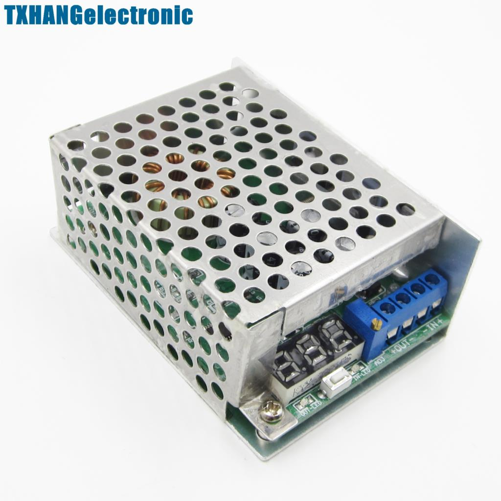10A DC Power Converter LED Buck Step Down Power Module In DC3.5-30V Out 0.8-29V