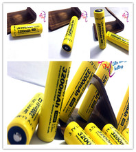 5PCS/lot 100% New Original NCR18650B 3.7 v 3200 mah 18650 Lithium Rechargeable Battery for Flashlight batteries+ Free shipping