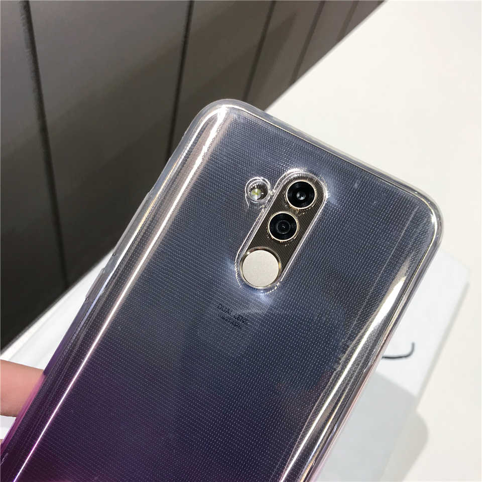 Gradient TPU Case ON THE For Huawei Mate 20 Lite 10 9 8 Silicone Case P20 Pro P10 P9 P8 Lite 2017 Honor 7X 6X 6A Y5 Y7 Cover