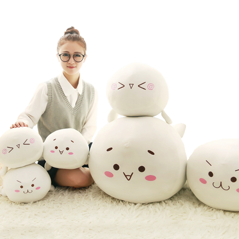 1pc 45/50cm Kaomoji Turn to Seal plush toy stuffed soft kawaii seal animal plush pillow for Home Decoration birthday gift super cute plush toy dog doll as a christmas gift for children s home decoration 20