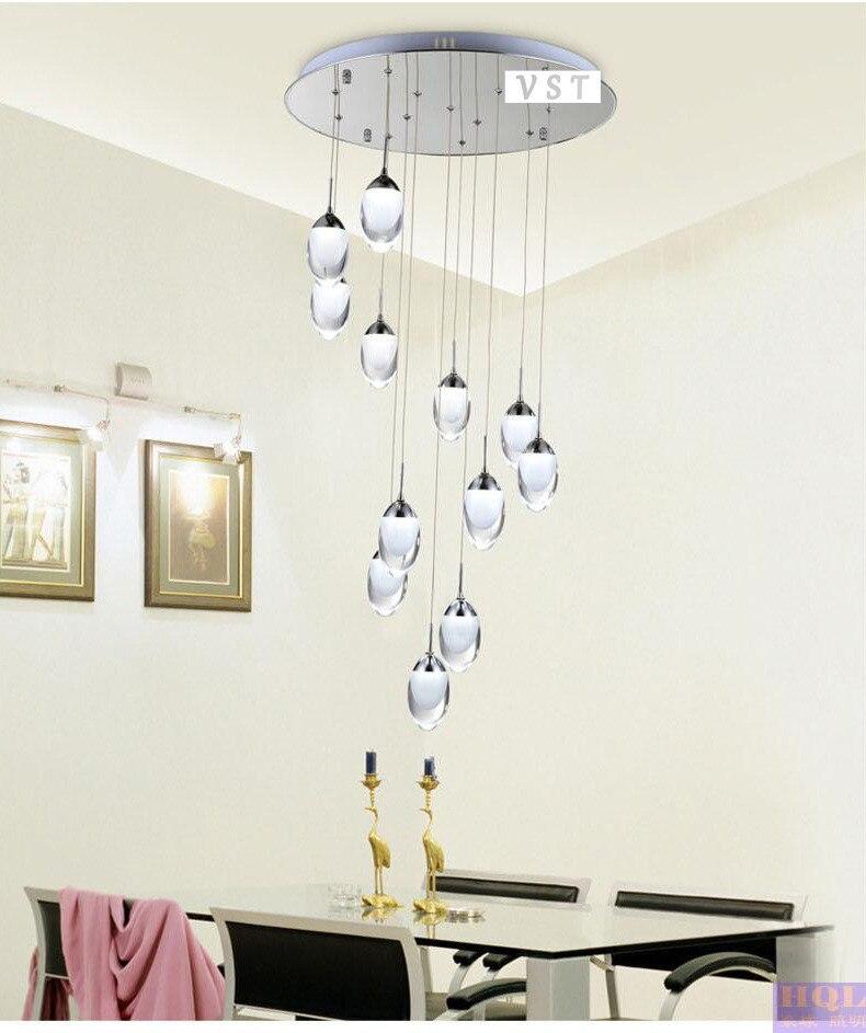 16 kopf LED Kronleuchter Licht fashion zweig Moderne Weihnachts Hotel Beleuchtung ChandelierD600xH1800mm Kostenloser versand - 2