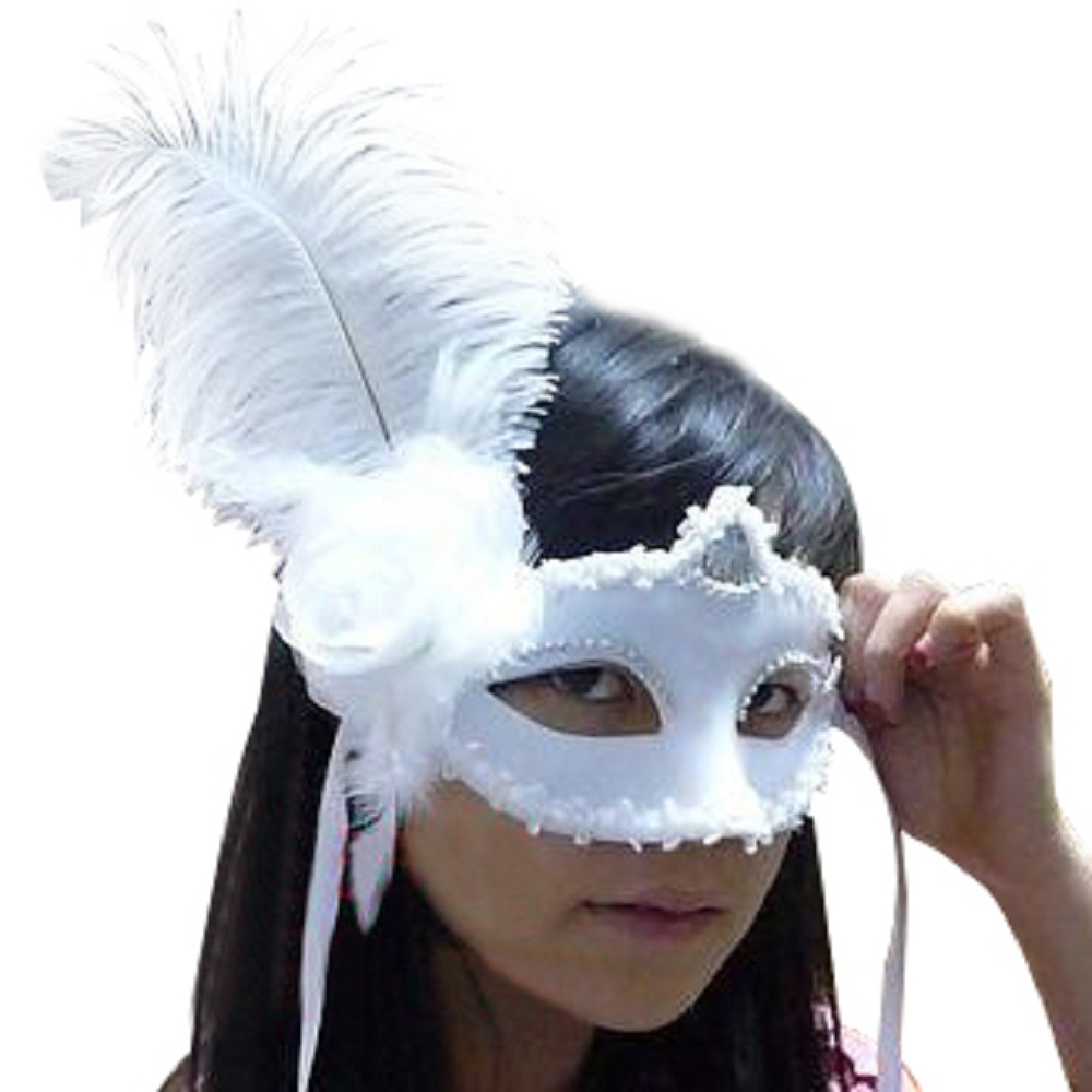 Aliexpress.com : Buy Ball Dance Party Half Face Mask Woman Masks ...