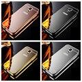 Para Samsung Galaxy S5 caso Bumper alumínio luxo Metal Frame espelho acrílico caso capa para Samsung Galaxy i9600 S5