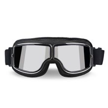 Classic Retro Motorcycle Goggles Glasses Vintage Moto For Harley Helmet UV Protection