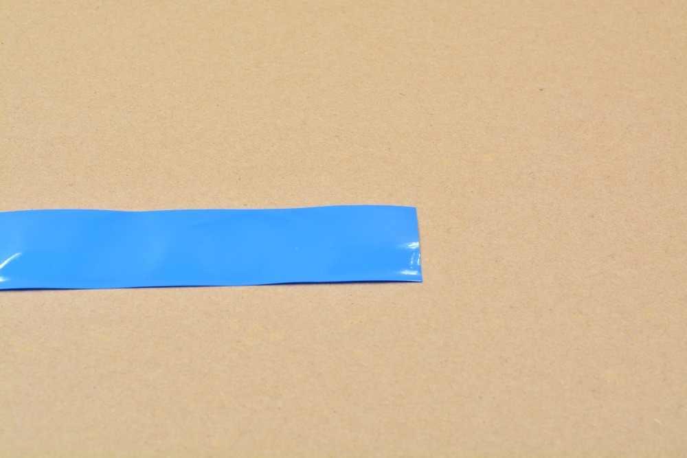 Ширина сглаживания 32 мм прозрачный черный синий белый много цветов ПВХ термоусадочная трубка картридж батарея корочка 1 шт