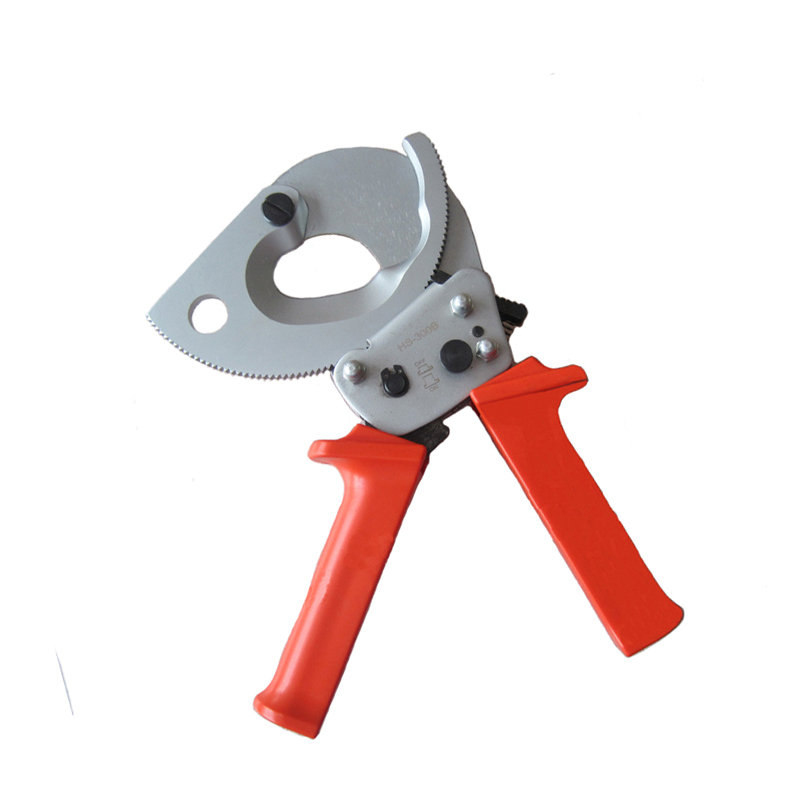 Ratchet Cable Cutter HS-300B, cable cutting tool for Copper Aluminum cables 300mm2 max magic time алые звезды