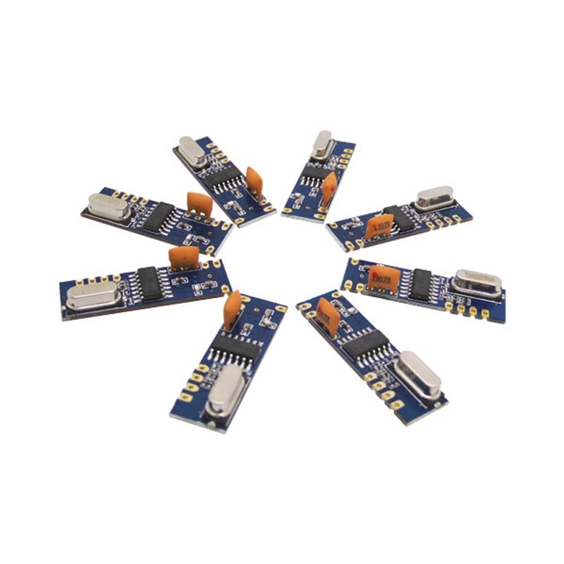 50pcs lot Wireless RF Module SRX882 Receiver RX Module ASK Modulation 433MHz 315mhz Receiver Module
