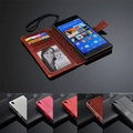 Luxury 100% Original Z3 Leather Wallet stand phone bags case cover for Sony Xperia Z3 With Photo Frame