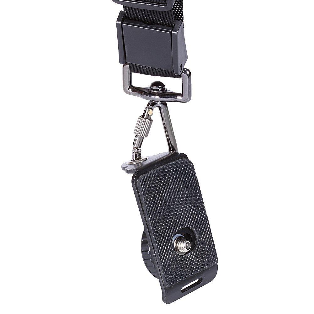 Black DSLR Sport Quick Release Professional Anti-slip Strap One-shouldered Camera Strap