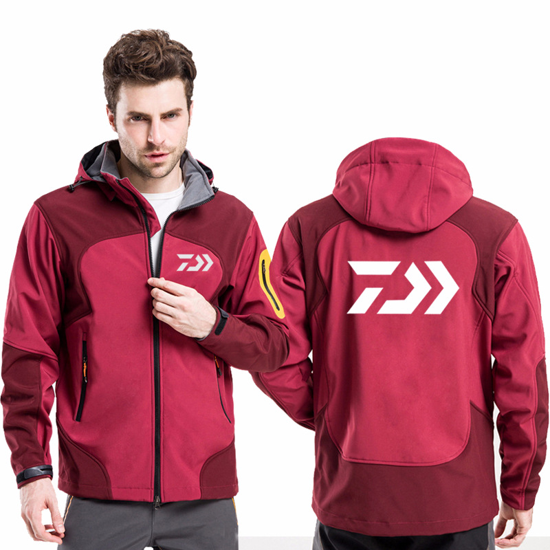 New Spring Autumn Daiwa Fishing Clothing Sets Outdoor Sport High Quality Men Tracksuits Two Piece Fishing Jackets And Pants 8xl Fishing Apparel
