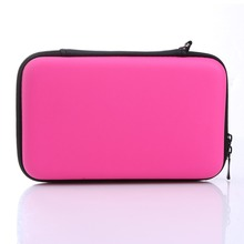 New High Quality EVA Skin Carry Hard Case Bag Pouch Cases for Nintendo for 3DS XL LL With Strap 3 Colors black softy game carry package case cover pouch sleeve bag for nintendo 3ds console