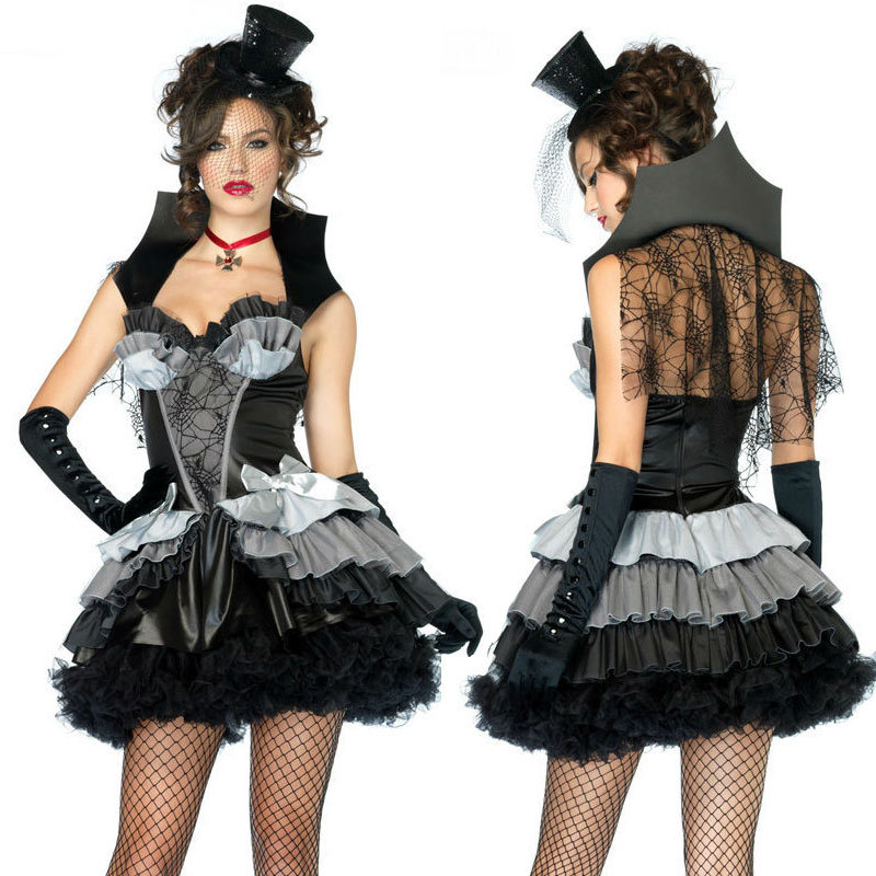 Buy 1 get 3 free steampunk Lolita gothic victorian cosplay suit clothes prom one piece dress