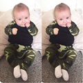 2017 Baby clothing set boy cotton long sleeve T-shirts+pants Infant bebe boys clothes set toddler kids cloth set Camouflage