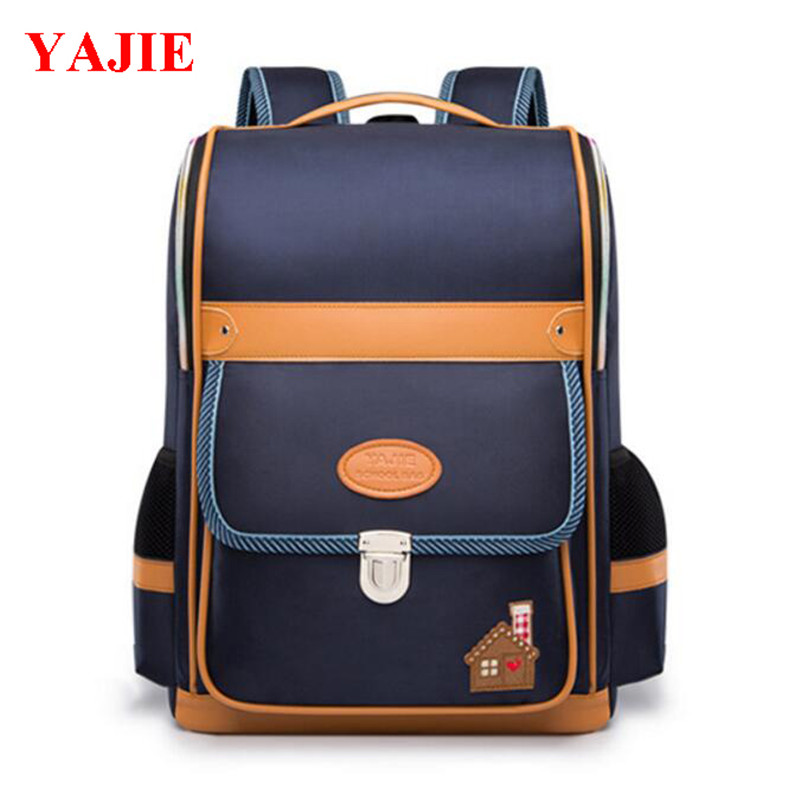 2017 YAJIE Korean Backpack Schoolbag For Middle School Students Casual Bags For Men And Women Wear-resisting Backpacks M387