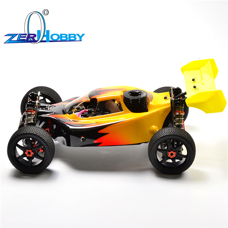 HSP RACING RC CAR TOYS 1/8 BAZOOKA ITEM 94081GT NITRO POWERED 4X4 OFF ROAD REMOTE CONTROL BUGGY TW SH21 ENGINE HIGH SPEED цена