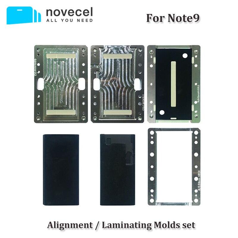Novecel Pour Samsung Note 9 8 S8 S9 Plus LCD Alignement/Stratification Moule pour Compatible Avec Q5 A5 Stratification machine
