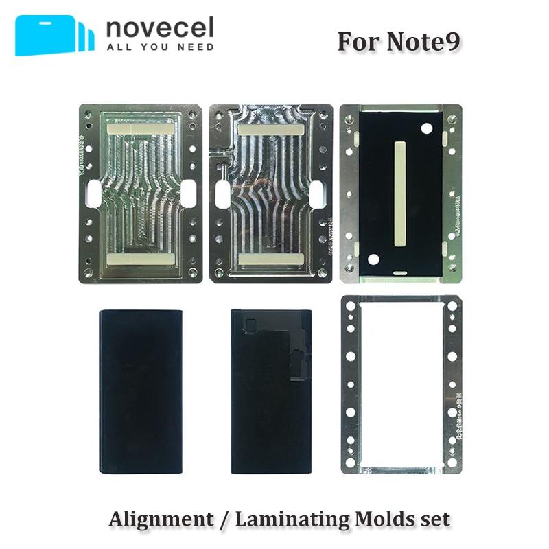 Novecel Pour Samsung Note 9 8 S8 S9 Plus LCD Alignement/Stratification Moule pour compatible avec Q5 A5 machine de laminage