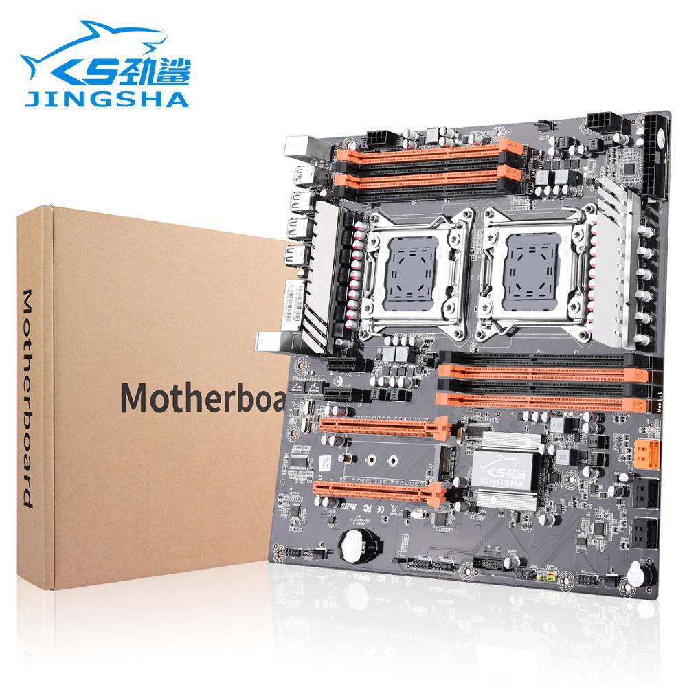 Dual Socket LGA 2011 X79 Desktop Motherboard Support 2x PCIe X16  M.2 SLi & CrossFire Xeon CPU