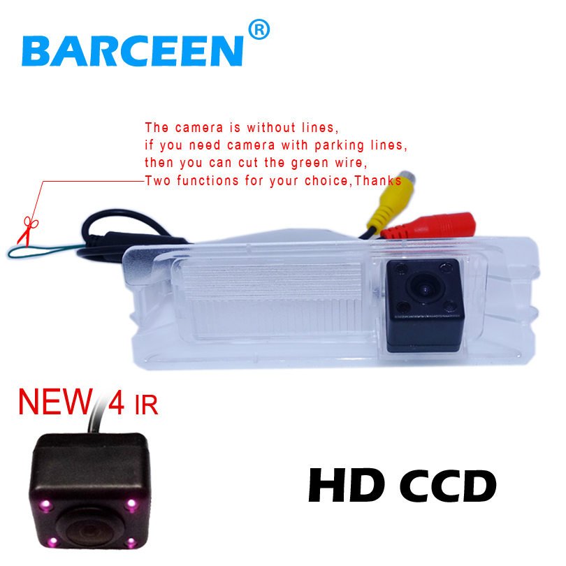 CCD HD Nightvision 4 IR night vision Special Car Rear View Reverse backup Camera for font