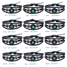 Zodiac / Constellation Signs Unisex Bracelet