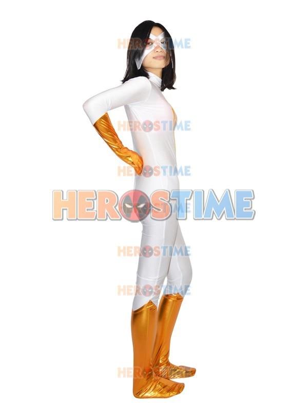 Spandex  Moonstone Superhero Costume halloween cosplay female fullbody zentai suit Hot sale