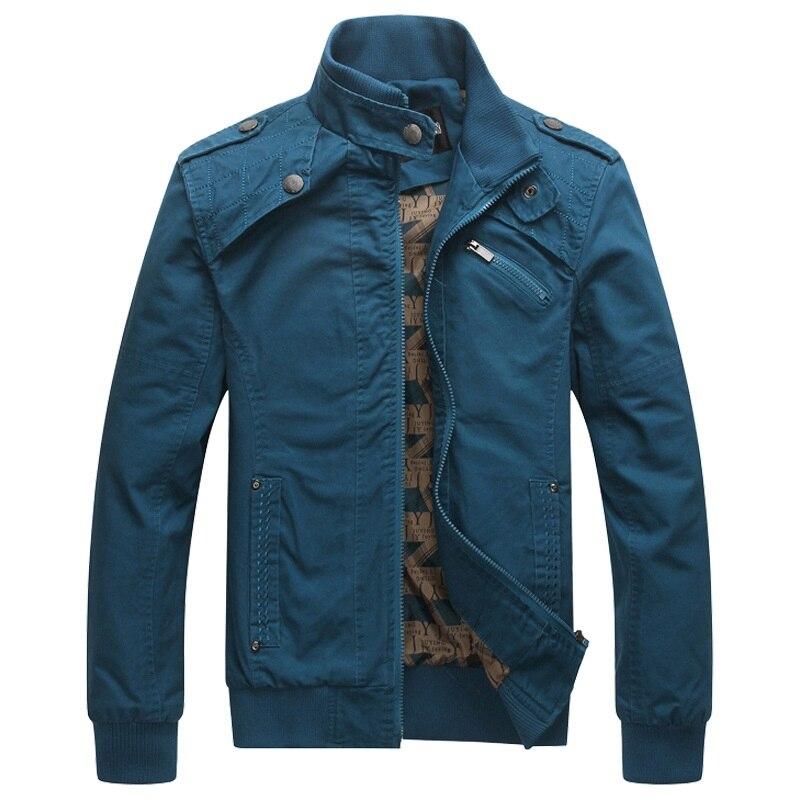 Image 3 - Мужская куртка бомбер, мужская куртка в стиле милитари на осень и зиму, 2019Куртки