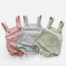 Newborn Infant Baby Girls Boys Bodysuit Babygrow Vest Summer Clothes Bo