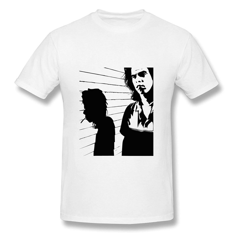 Hombres Nick Cave camiseta-blanco - a592 2d71f702c7b