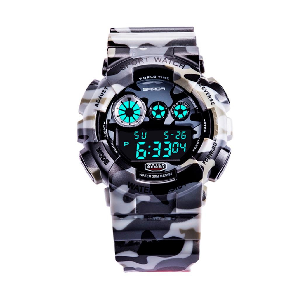 2018 New Digital Watch LED Women Watches Men Electronic Sports Watch Waterproof Children Watch relojes infantiles led