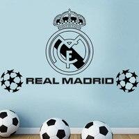Nouveau Réel FC football Club Logo Stickers Muraux Décoration Art Mural GRAND GRANDE taille pour les fans de football