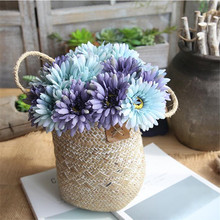 Artificial flower gerang bouquet gerbera fake flowers home decor wedding decoration gift for March 8th