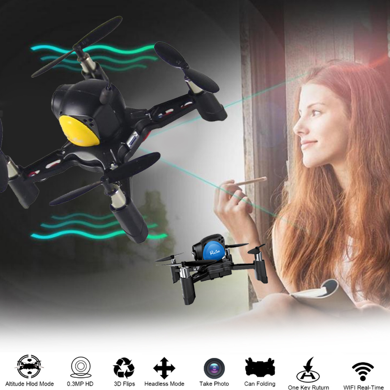 Mini Drone RC Quadcopter DIY Flight High Performance Drone Speed Adjustable HD 1.0MP Remote Aircraft Helicopter Aircraft mini drone rc helicopter quadrocopter headless model drons remote control toys for kids dron copter vs jjrc h36 rc drone hobbies