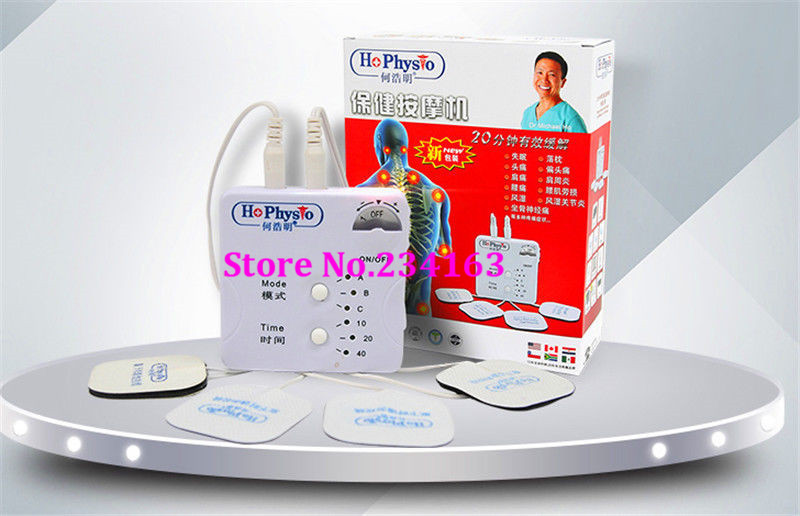 DR HO'S Dual Double Muscle Massage Therapy System Pain Relieve Free Shipping New dr ho s 12 modes dual muscle therapy system massager electrical acupuncture therapeutic apparatus massage free shipping