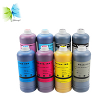 8 Pint Pigment refill ink for HP 70 Designjet Z2100 PK/CMY/LC/LM/MK/LGY