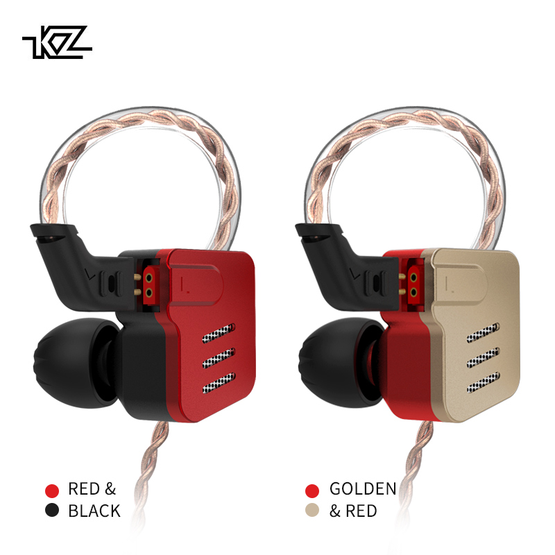 KZ BA10 Headset Balanced Armature Driver 5BA HIFI Bass Earbuds In Ear Monitor Earphone Sport Noise Cancelling Metal Headphones газовая плита simfer f66gw41001
