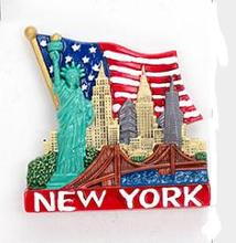 New York, the Statue of Liberty travel souvenir refrigerator stickers the new york quarterly number 46