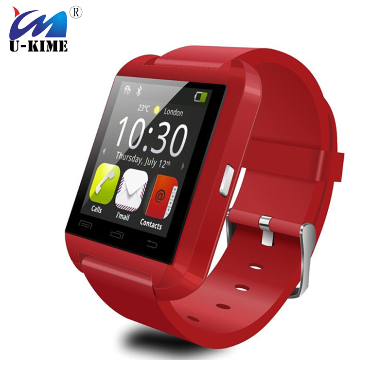U-KIME Factory U8 Men Women Smart Watch Waterproof Bluetooth Sport Smartwatch For Android Samsung Xiaomi ZTE Lenovo Huawei