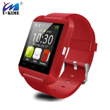 U-KIME Factory U8 Men Women Smart Watch Waterproof Bluetooth Sport Smartwatch For Android Samsung Xiaomi ZTE Lenovo Huawei