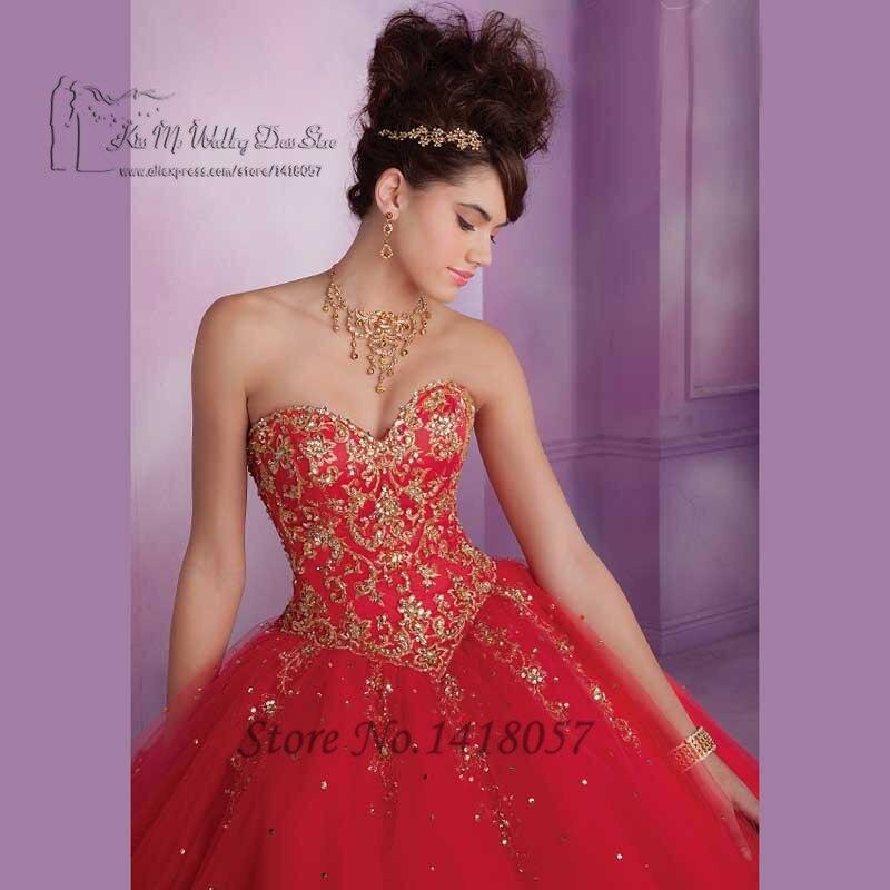 Robe de princesse rouge pas cher