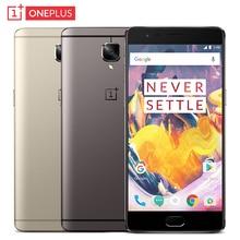 Original Oneplus 3T A3010 Cell Phone RAM 6GB ROM 64GB Snapdragon 821 font b Quad b