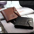 Men Wallets Design Magnetic Hasp Coins Pocket PU Leather Short Style Classic Personality Card Holder Purse Wallet Free Shipping